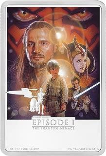 2018 NU Star Wars Posters - The Phantom Menace Silver Proo $2 GEM Proof Uncertified
