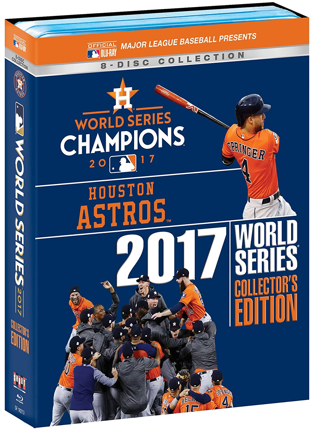 Houston Astros 2017 World Collector's Blu-ray Edition Regular discount Ranking TOP12 Series