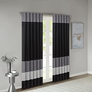 Best black grey and white curtains Reviews