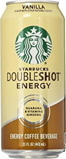 Starbucks Double Shot Energy Drink, Vanilla, 15 Fl Oz