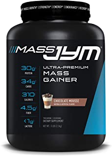 Mass JYM Protein Powder - Egg White, Milk, Whey Protein Isolates & Micellar Casein | JYM Supplement Science | Chocolate Mousse Flavor, 5 lb