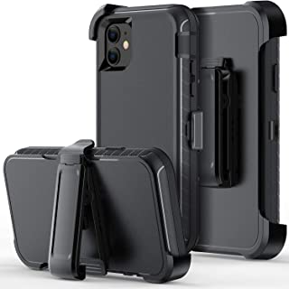 ORIbox Case Compatible with iPhone 12 Case, Compatible with iPhone 12 pro Case, Heavy Duty Shockproof Anti-Fall case with Belt Clip