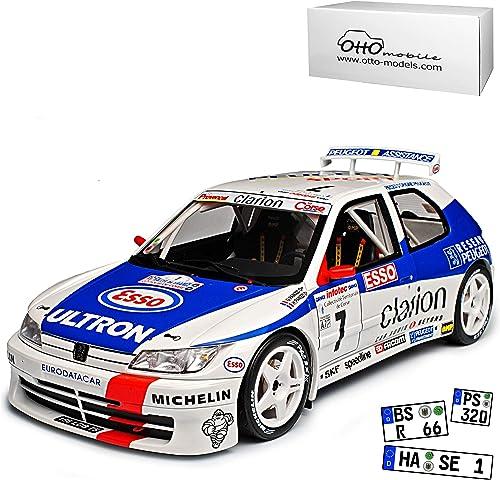 Peugeot 306 Maxi Phase I Rallye Panizzi Tour de Corse Nr 664 1 18 Otto Modell Auto mit individiuellem Wunschkennzeichen