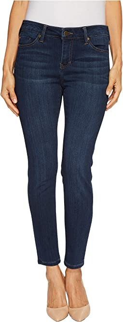 Liverpool - Petite Abby Skinny in Silky Soft Stretch Denim in San Andreas Dar