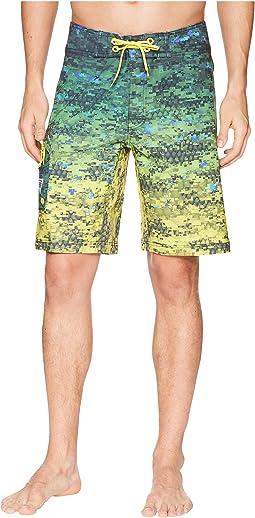 PFG Offshore Camo Fade Boardshorts