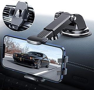 Handyhalterung Auto, 3 in 1 Handyhalter Auto Handyhalterung Saugnapf & Lüftung, 2021 Upgrade KFZ Handy Halterung 360° Drehbar Handyhalterung für iPhone 12 12Pro SE 11 11Pro Samsung Huawei Xiaomi usw.