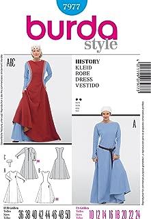 Burda Sewing pattern 7977 Burda Style, History Dress, fancy dress costume,