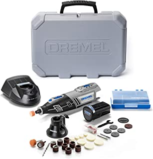 Dremel 8220 Cordless Rotary Tool 12V, Rotary Multi Tool Kit with 1 Attachment 28 Accessories, Front LED Light, Variable Sp...