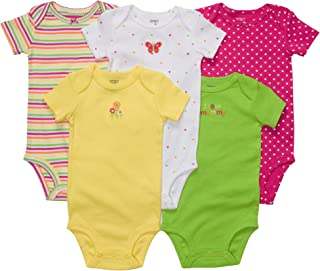 5 Bodysuits - I Love Mommy-9 Months