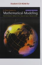 Student CD for Giordano/Fox/Horton/Weir's A First Course in Mathematical Modeling, 4th