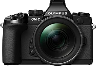 Olympus E-M1 Mirrorless Digital Camera with 12-40mm f2.8 Lens