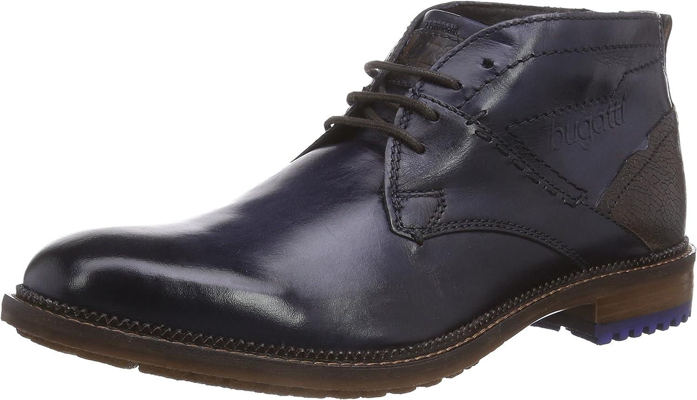 Bugatti Herren Herren U55391W Kurzschaft Stiefel, Blau (dunkelblau 425), 41 EU  Marke im Verkauf Clearance