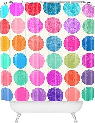 Creative Bath Dot Swirl Shower Curtain CreativeWare S0854MULT