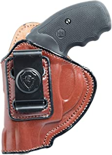 Inside The Waistband Leather Holster for S&W J Frame 1-7/8