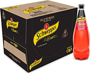 Schweppes Agrum Blood Orange, 12 x 1.1L