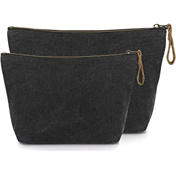 Red And Blue Zipper Canvas Coin Purse Wallet Make Up Bag Cellphone Bag With Handle