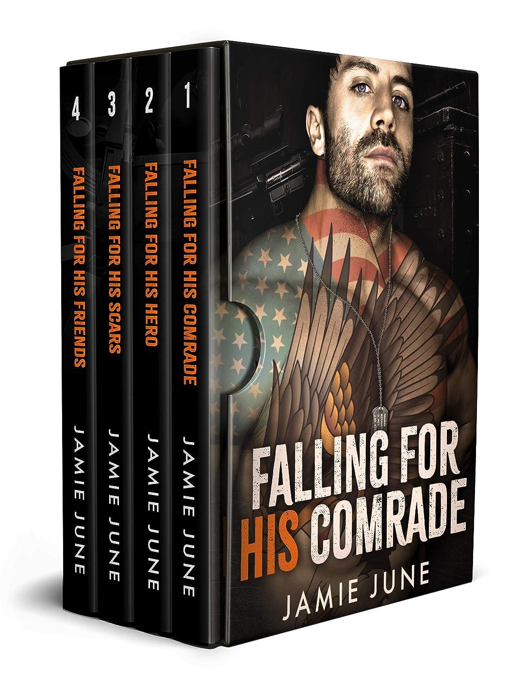 主流召集する寛解Falling For His Comrade: An MM Contemporary Romance Bundle (Soldiers Support Group) (English Edition)