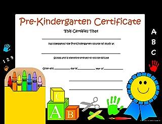 Recognition Certificate - Pre-K Certificate, 11