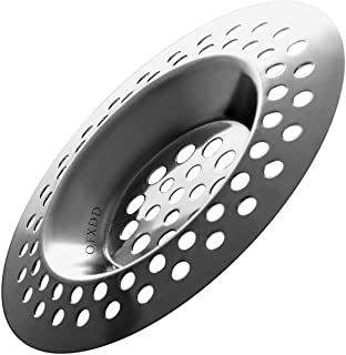 """Hair Catcher Tub, Kitchen Sink Strainer Stainless Steel, Flat Drain Protector 3"""", Shower Drain Cover"""