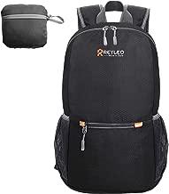 REYLEO Zaino Trekking Pieghevole Leggero e Compatto da Viaggio, Camping Zaino Escursionismo Daypack Ultraleggero per Sport all'Aperto