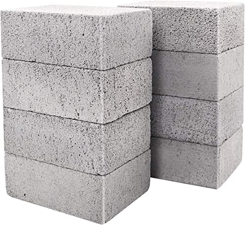 wholesale 8 Pack Grill outlet online sale Griddle Cleaning Brick Block Pumice Stones for Removing BBQ wholesale Grills, Racks, Flat Top Cookers, Pool online sale