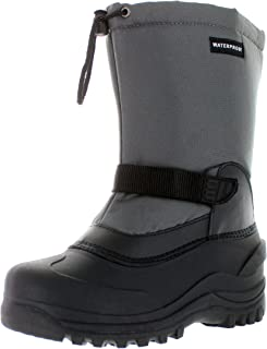 CLIMATEX Climate X Mens Ysc5 Snow Boot,Charcoal,8.5