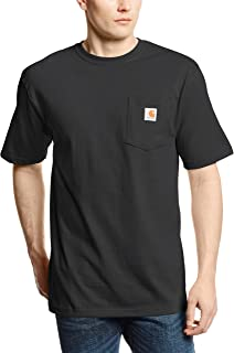 Carhartt Men's K87 Workwear Pocket Short Sleeve T-Shirt...