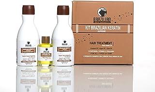Brazilian Keratin Supreme Treatment - Blowdry - Formaldehyde Free. Perfect Personal KIT
