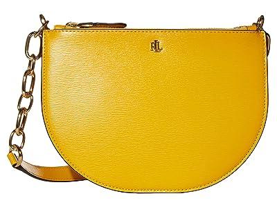 LAUREN Ralph Lauren Saffiano Sutton 22 Crossbody Medium (Sundance) Handbags