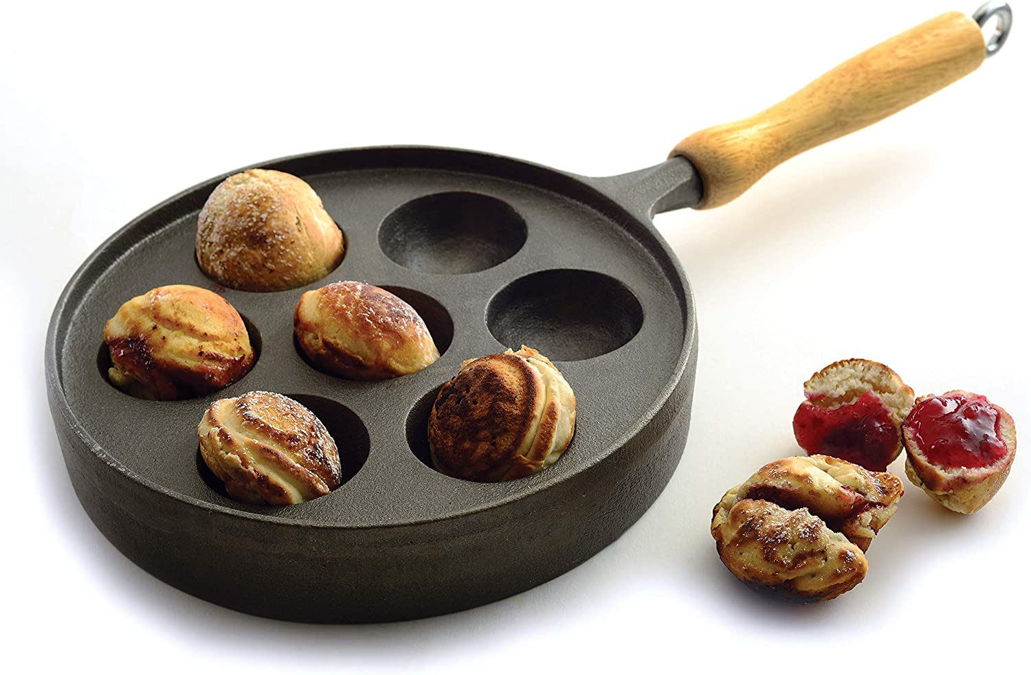 Norpro Deluxe Munk High Same day shipping order Pan Aebleskiver