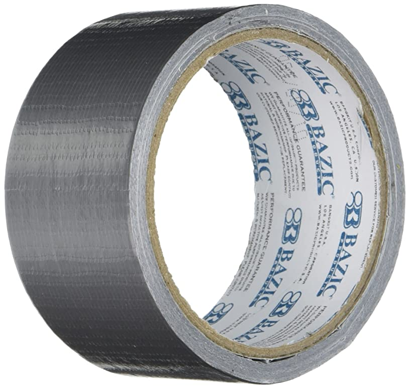 BAZIC Silver Duct Tape. Heavy Duty Duct Tape for Crafts and Home (1.88