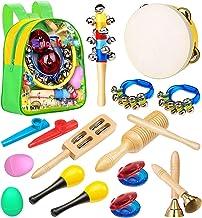 اسباب بازی های نوازنده Smarkids آلات موسیقی - اسباب بازی های حرفه ای آموزش موسیقی در دوران پیش دبستانی ، سازهای کوبه ای تنظیم موسیقی را برای اسباب بازی های اولیه یادگیری پسران و دختران با کوله پشتی ذخیره می کنند