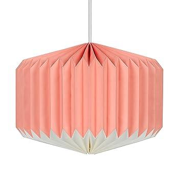 Wild papier de bois Lampshade-pink limonade