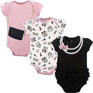 Little Treasure Baby Boys' Cotton Bodysuits