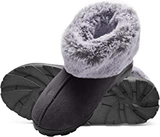 furry flat shoes
