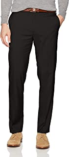 Men's Straight Fit Stretch Flat Front Air Dress Pant
