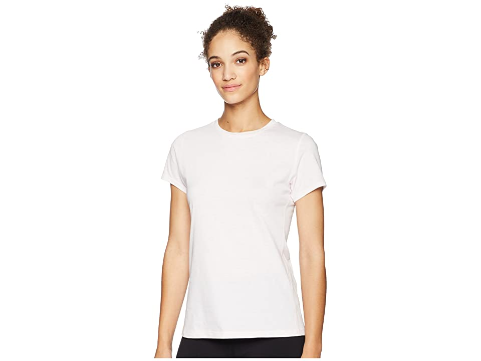 New Balance Heather Tech Tee (Himalayan Pink Heather) Women