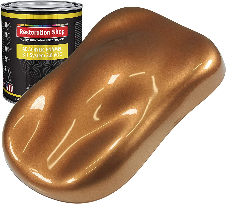 Restoration Award Import Shop - Ginger Metallic Q Auto Enamel Acrylic Paint
