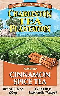 American Classic Charleston Plantation Pyramid Tea Bags, Cinnamon Spice, 1.05 Ounce