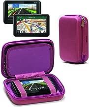Navitech Purple Hard Eva Nylon Protective Tough Carry Case Compatible with The Tomtom GO Live Camper Caravan & 512595LMT Truck