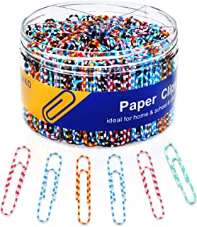 Sponsored Ad - Paper Clip Large Paper Clip 300 Vinyl Coated Smooth Medium Size Paper Clip is Durable and Rustproof, Perfec...
