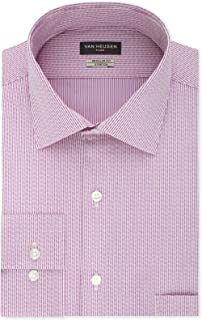Van Heusen Mens Dress Shirt Solid Heather Regular Fit