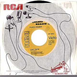Floyd Cramer 45 RPM Last Date / San Antonio Rose