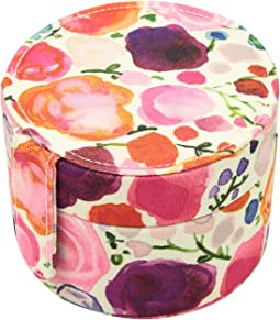 Floral Travel Jewelry Organizer