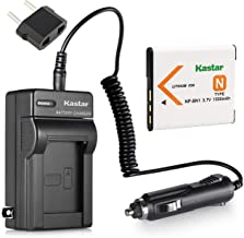 Kastar NPBN1 Battery and Charger Kit for Sony NP-BN1 N Type Battery and Sony Cybershot DSC-TX5 DSC-TX7 DSC-TX9 DSC-WX30 DSC-WX50 DSC-WX70 DSC-WX9 DSC-QX10 DSC-QX100 DSC-TX10 DSC-TX20 DSC-TX30 Cameras