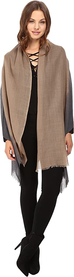 Love Quotes - Travel Weight Cashmere Dip-Dye Scarf