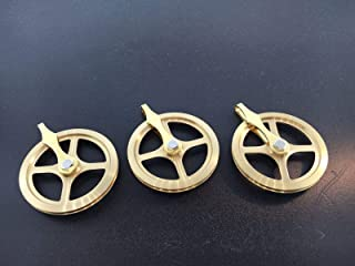 Grandfather Clock Weight Pulley Set of 3 German Made