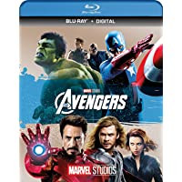 Marvels The Avengers 4K UHD + Blu-ray