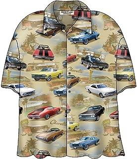 Chevy Chevelle SS Classic Cars Camp Hawaiian Shirt by David Carey