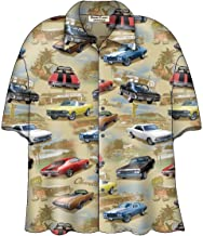 General Motors Chevy Chevelle SS Classic Cars Camp Hawaiian Shirt by David Carey